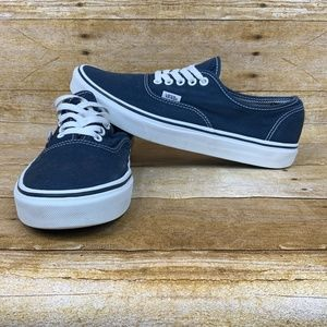 VANS Off The Wall Mens Size 10 Canvas Low Lace Up
